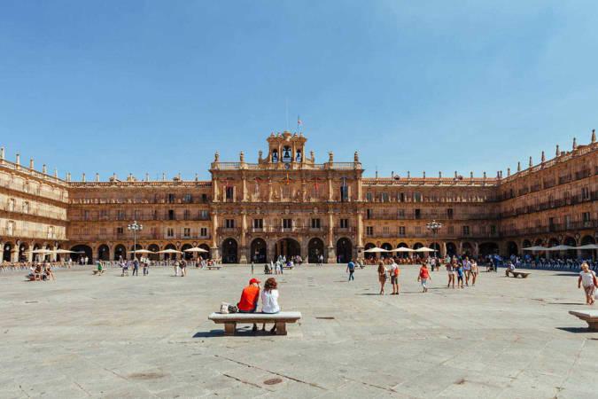 Las plazas más importantes de Salamanca