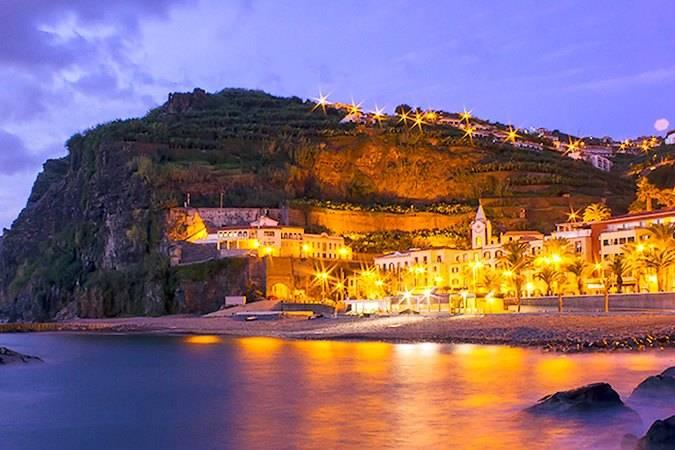Atardecer en Ponta do Sol, en Madeira