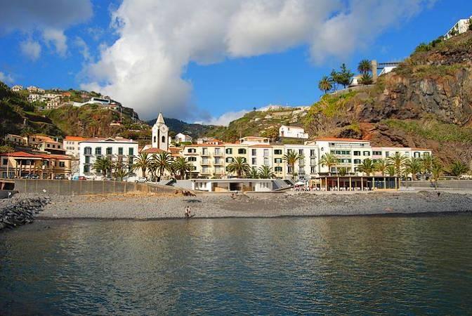 Ponta do Sol, en Madeira, Portugal