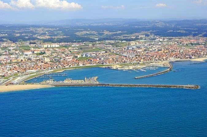 La villa costera de Póvoa de Varzim, en Portugal