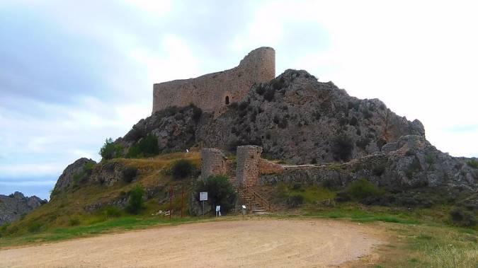 Castillo de los Rojas, en Poza de la Sal, Burgos