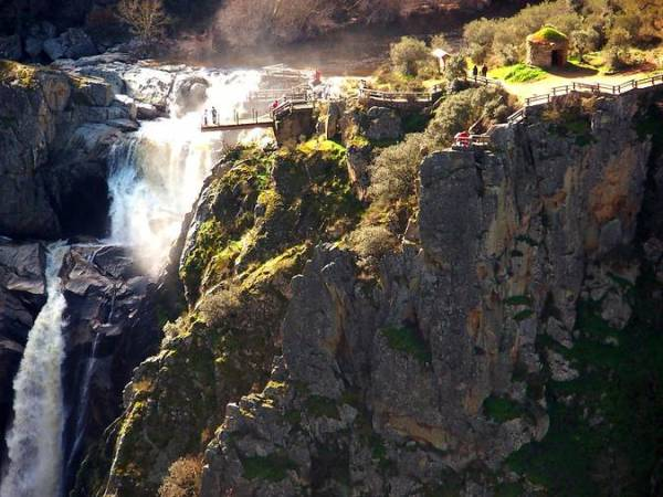 La Cascada del Pozo de los Humos, en Salamanca