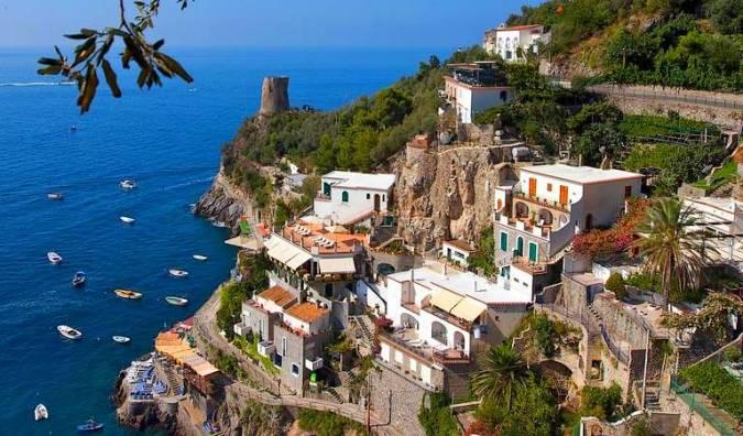 Praiano, en la italiana Costa Amalfitana