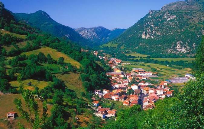 El precioso concejo asturiano de Proaza