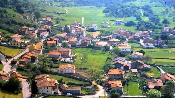El pueblo de Andrín, en el concejo de Llanes, Asturias