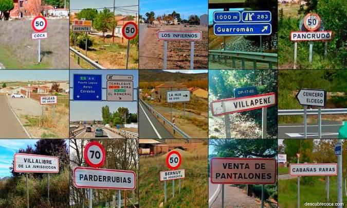 Pueblos de España con nombres raros