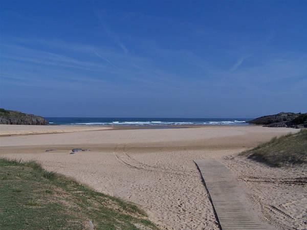 Playa de Ajo, en Cantabria