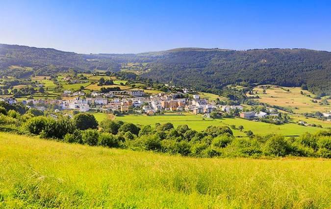 La villa de Boal, en Asturias