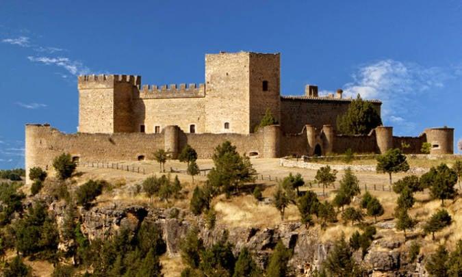 Castillo de Pedraza, en Segovia
