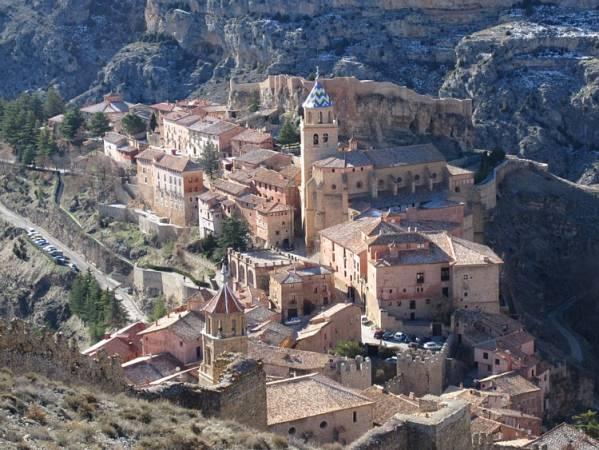 El pueblo medieval de Albarracín, en Teruel