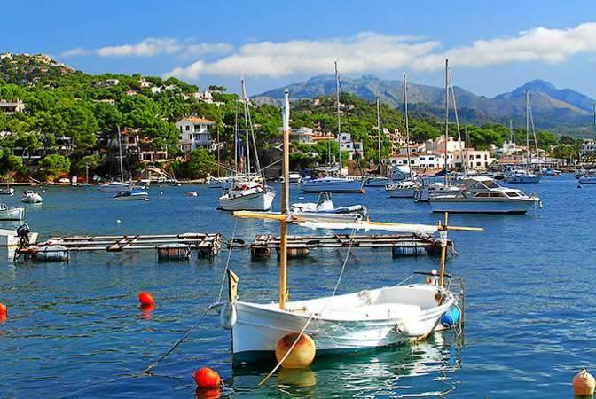 Puerto Andratx, en la isla de Mallorca