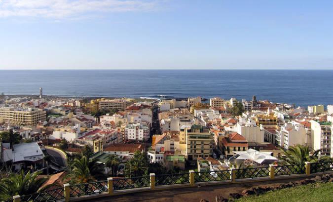 Puerto de la Cruz, en Tenerife, Islas Canarias