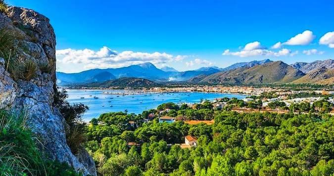 Puerto de Pollensa, un destino muy familiar en Mallorca