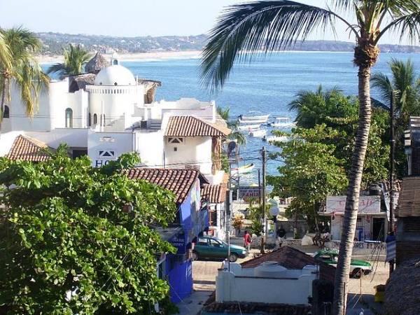Puerto escondido, un buen destino de sol y playa en México