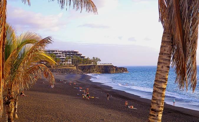 Puerto Naos, destino turístico en La Palma