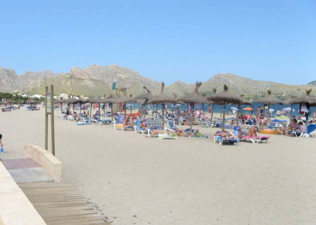 Puerto Pollensa, en la isla balear de Mallorca