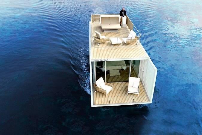 Punta de Mar, el primer alojamiento flotante en Dénia