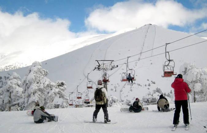 navacerrada esqui