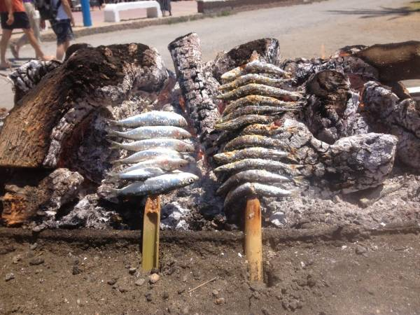 Espetos y sardinas en málaga