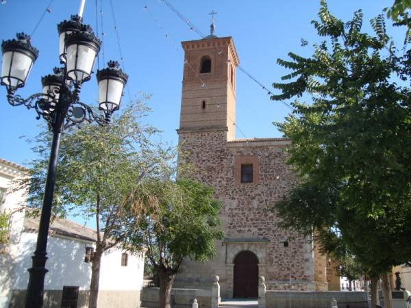 Iglesia de San Antonio Abad, en Almonacid de Toledo