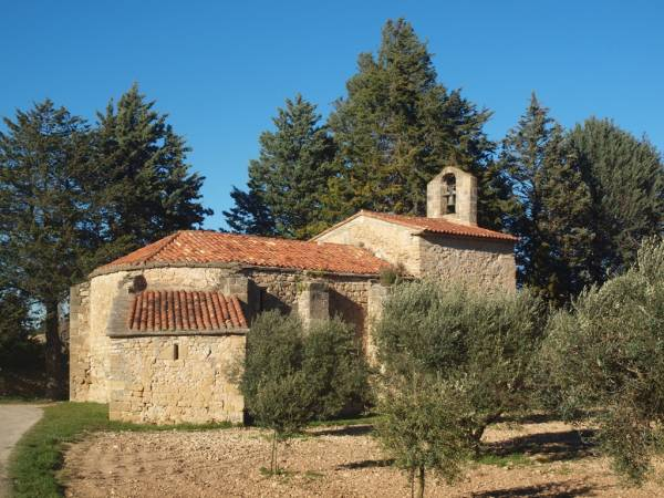 Ermita de Santa Madrona, en Arnes, Tarragona