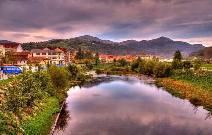 La villa asturiana de Arriondas