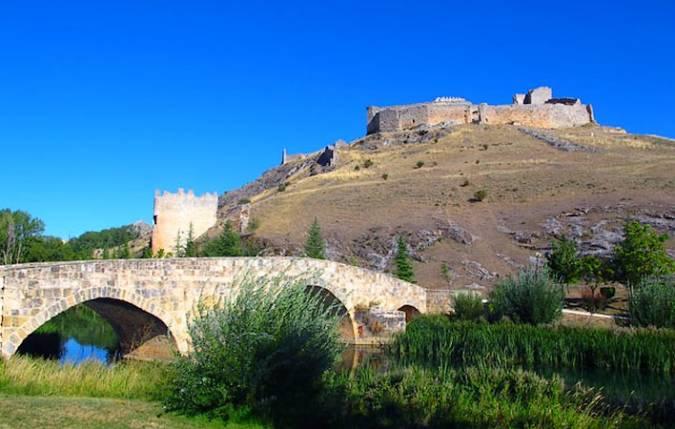 Puente Romano y Castillo de El Burgo de Osma