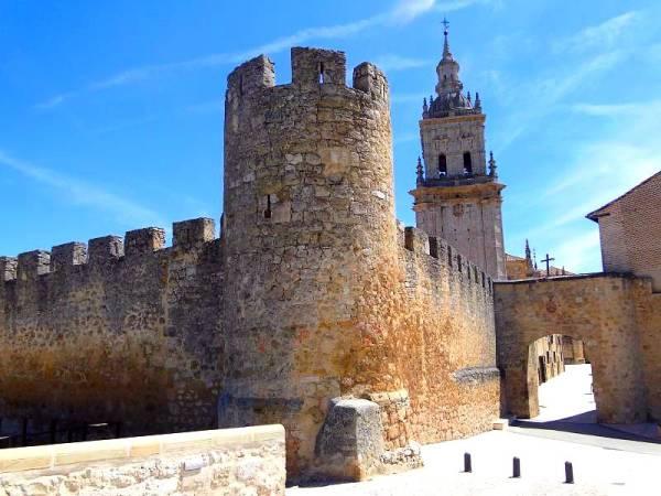 Muralla de El Burgo de Osma, en Soria