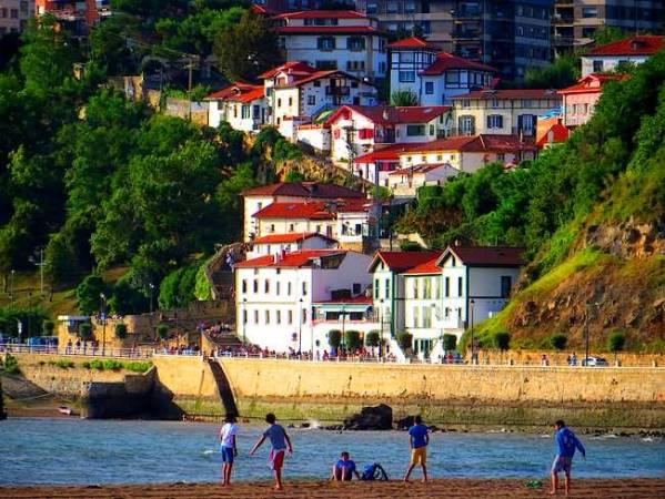 La villa marinera de Getxo, en Bilbao