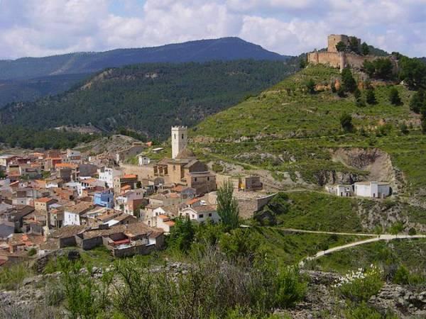 El pueblo de Jalance, en Valencia