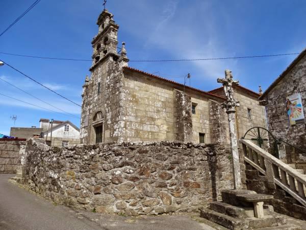 Iglesia de San Martín de Lores, en Meaño, Pontevedra