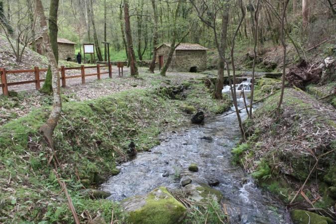 Ruta de los Molinos de Agua, en Meaño, Pontevedra