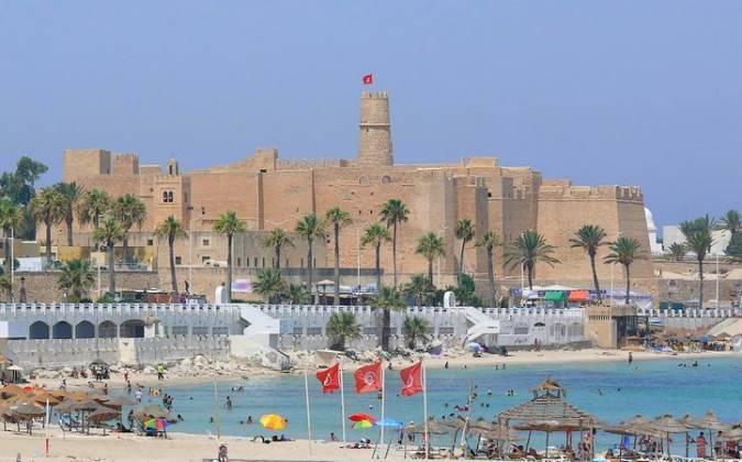 La soleada ciudad costera de Monastir, en Túnez