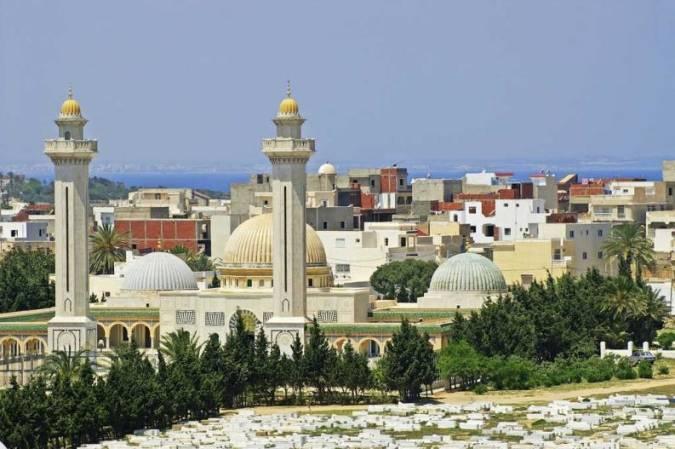 Vista panorámica de Monastir, en Túnez