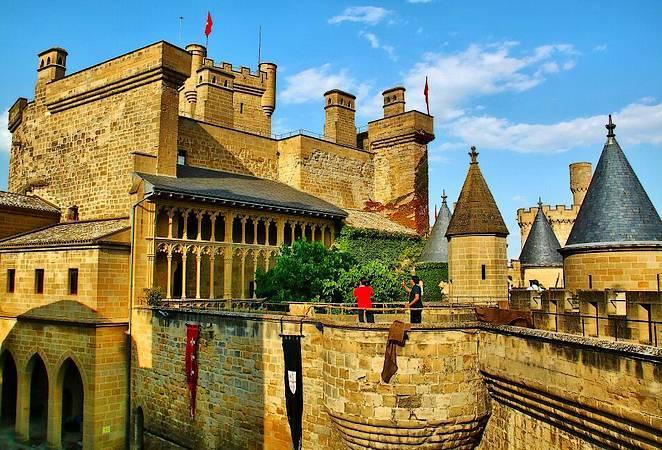 Un castillo de cuento en Olite, Navarra