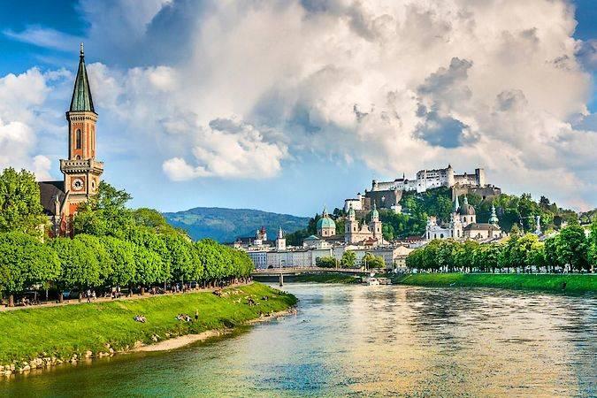 Salzburgo, una de las ciudades más bellas de Austria