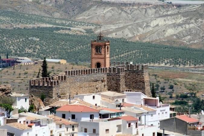 Castillo de Serón, en Almería