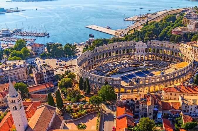 La ciudad de Split, en Croacia