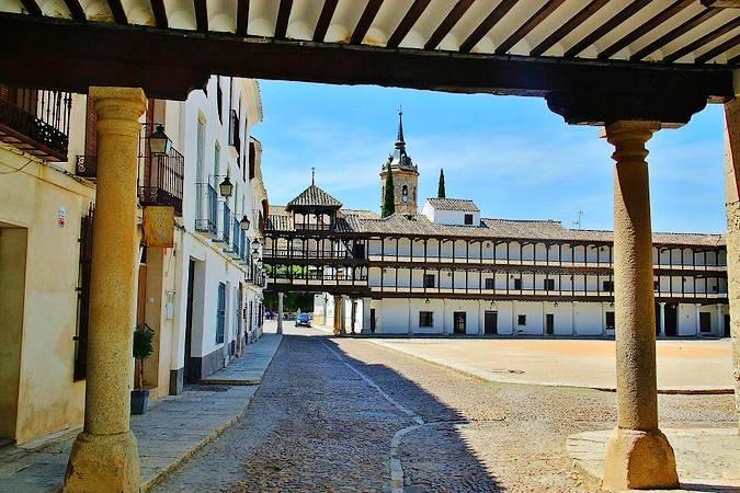 El pueblo manchego de Tembleque, en Toledo