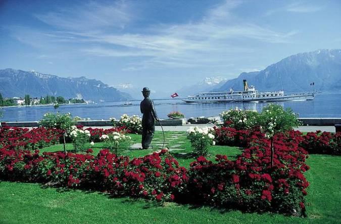 Vevey, una de las ciudades más bonitas de Suiza