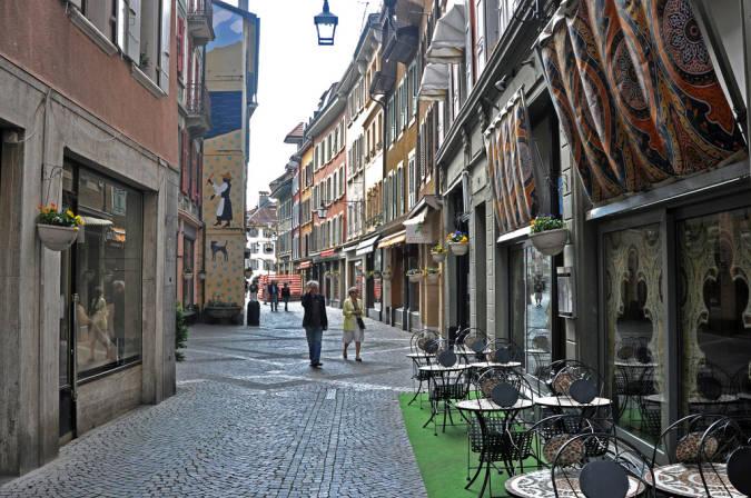 La Vieille Ville de Vevey, en Suiza