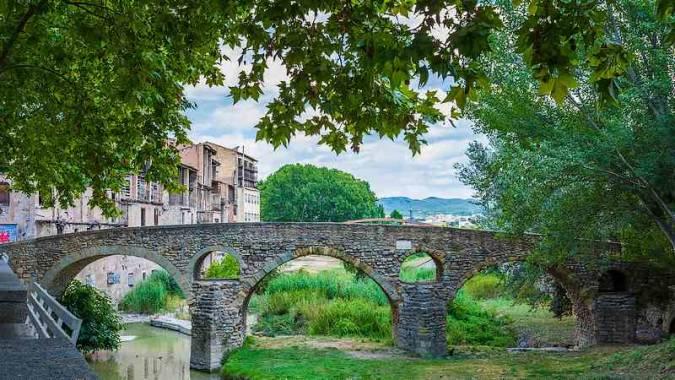 Puente Romano de Vic, en Barcelona
