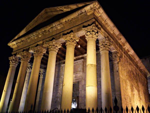 Templo Romano de Vic, en Barcelona