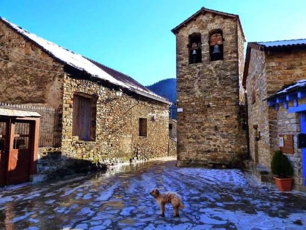 Calle de Viu, en Huesca