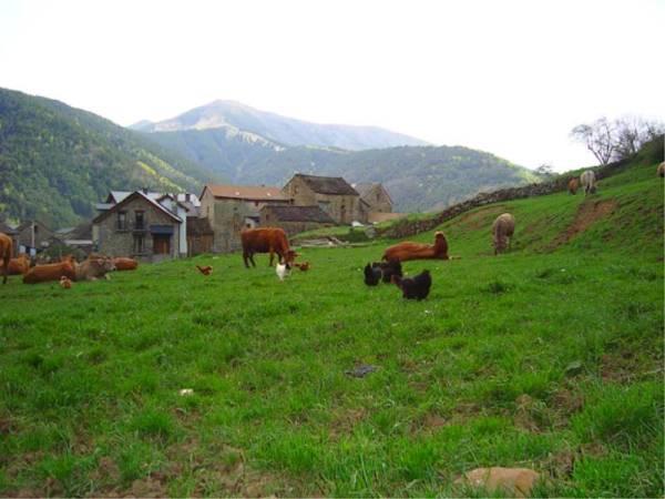 El pueblo de Viu, en Torla, Huesca