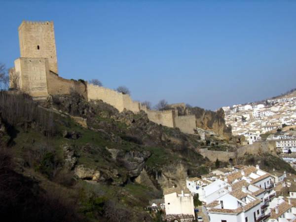 Castillo de la Yedra, en Cazorla, Jaén
