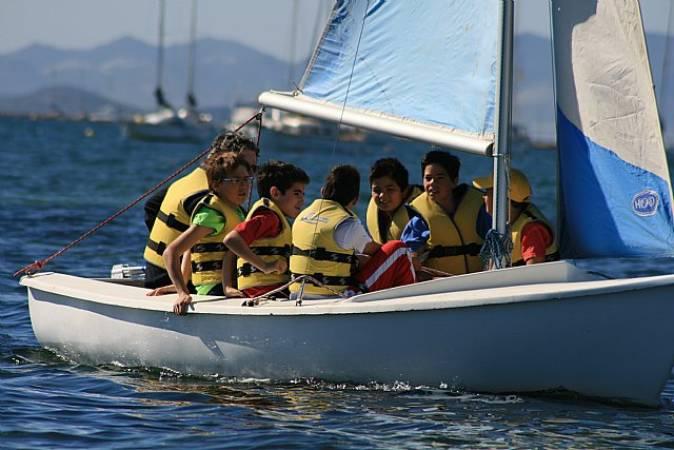 Actividades náuticas en La Manga