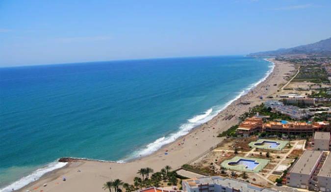 Playas de Vera, en Almería