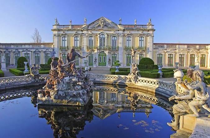 Queluz, una pequeña ciudad portuguesa con un gran palacio