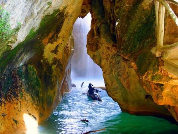 La Cueva del Agua, en Quesada, Jaén